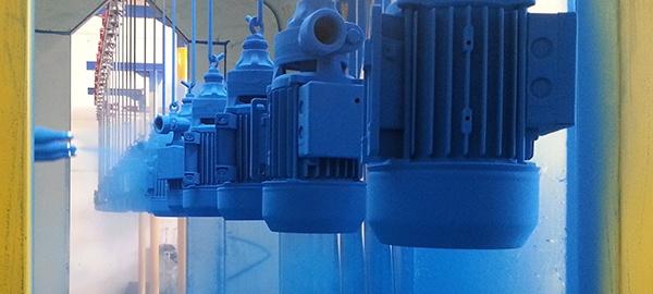 Ponudba prašnega barvanja v Grosuplju