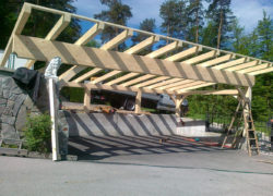 leseni nadstreški 2